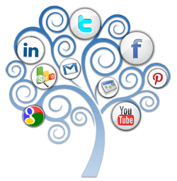 Socialway's digital tree