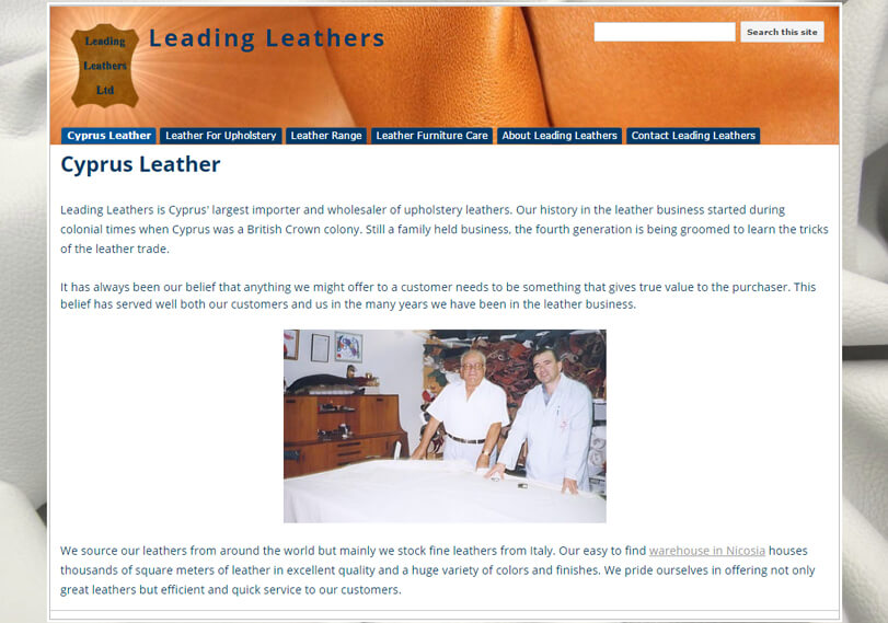 Leather Cyprus