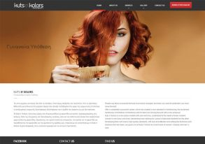Hair salo site in WordPress